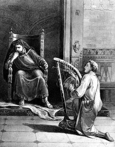 David Playing the Harp Before King Saul